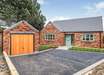 Thumbnail 3 bed detached bungalow for sale in Swarkestone Road, Weston-On-Trent, Derby