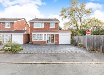 Thumbnail 4 bed detached house for sale in Radcliffe Drive, Halesowen