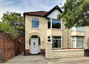Thumbnail 3 bed semi-detached house for sale in Rosebery Avenue, Brighton-Le-Sands, Liverpool