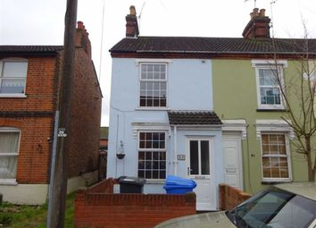 Thumbnail 3 bedroom end terrace house for sale in Orwell Road, Ipswich, Suffolk