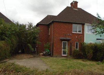 Thumbnail 3 bedroom semi-detached house to rent in Fenlake Road, Shortstown, Bedford