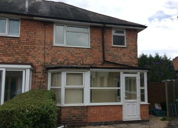 Thumbnail 3 bedroom end terrace house to rent in Pendleton Grove, Acocks Green, Birmingham