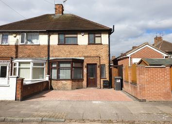 Thumbnail 4 bedroom semi-detached house for sale in Swithland Avenue, Near Abbey Park, Leicester