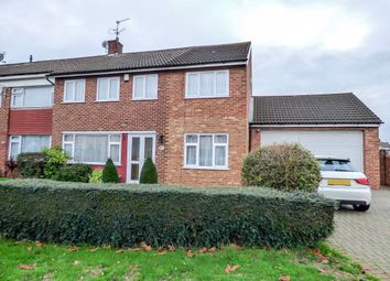 Thumbnail 5 bedroom semi-detached house for sale in Vauxhall Close, Northfleet, Gravesend