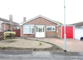 Thumbnail 2 bed detached bungalow for sale in Middlefield Close, Hinckley