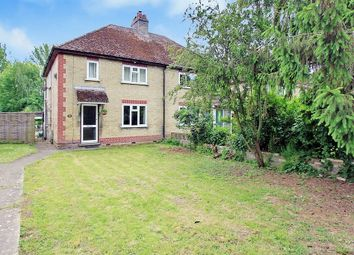 Thumbnail 2 bed semi-detached house for sale in Twentypence Road, Cottenham, Cambridge