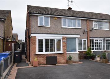 Thumbnail 3 bed semi-detached house for sale in Bakewell Close, Mickleover, Derby