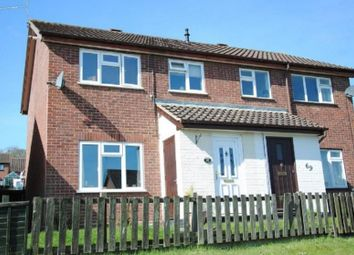 Thumbnail 3 bed semi-detached house to rent in Stowmarket Road, Ipswich, Suffolk