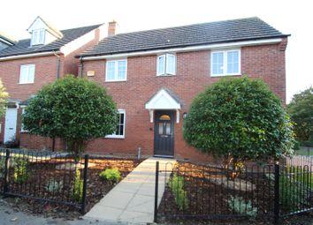 Thumbnail 4 bed detached house for sale in Foxholes Close, Deanshanger, Milton Keynes