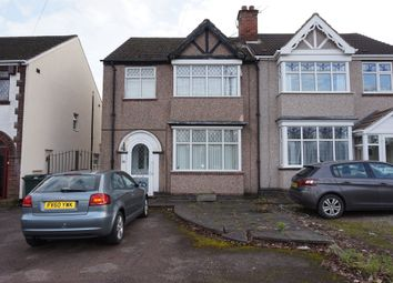 Thumbnail 3 bedroom semi-detached house for sale in Ansty Road, Wyken, Coventry