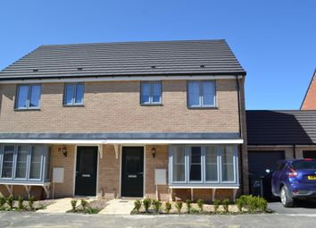 Thumbnail 3 bed detached house to rent in Merlin Road, Priors Hall Park, Corby