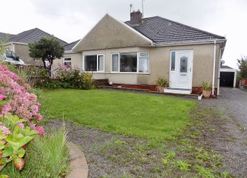 Thumbnail 2 bed semi-detached bungalow for sale in Merlin Crescent, Cefn Glas, Bridgend.
