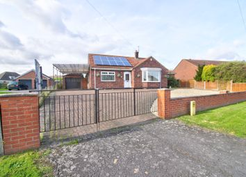 Thumbnail 2 bed bungalow for sale in School Road, South Killingholme, Immingham