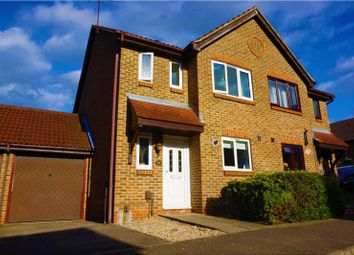 Thumbnail 3 bed semi-detached house for sale in Bentley Drive, Harlow