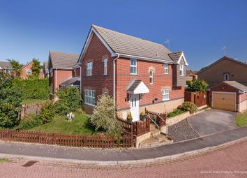 Thumbnail 4 bed detached house for sale in Llanmead Gardens, Rhoose, Barry