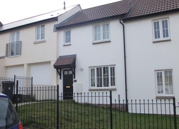 Thumbnail 3 bed terraced house to rent in Flax Meadow Lane, Axminster, Devon