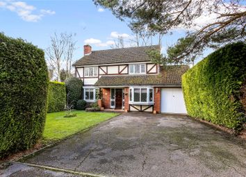 Thumbnail 4 bed detached house for sale in Lawson Way, Sunningdale, Ascot, Berkshire