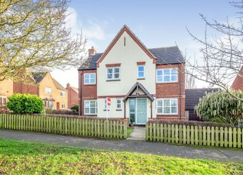 Thumbnail 4 bed detached house for sale in John Taylor Way, Moreton Morrell, Warwick