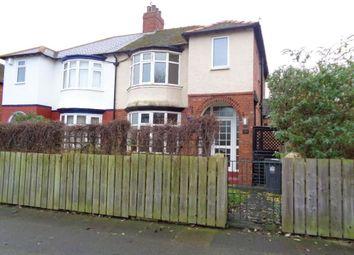 Thumbnail 3 bed semi-detached house for sale in Bensham Road, Darlington