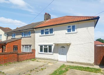 Thumbnail 3 bed semi-detached house for sale in Page Crescent, Waddon, Croydon