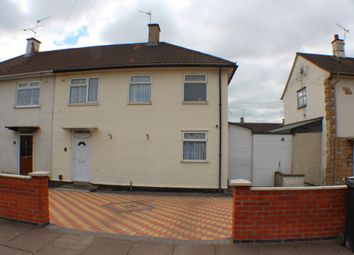 Thumbnail 3 bed terraced house to rent in Netherhall Road, Leicester