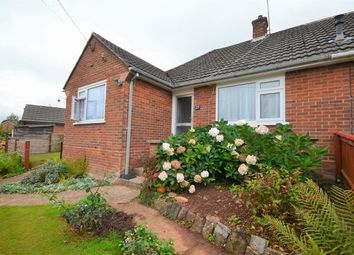 Thumbnail 2 bed semi-detached bungalow for sale in Branscombe Road, Tiverton