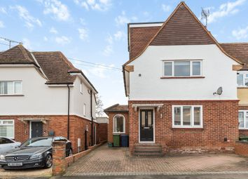 Thumbnail 4 bed semi-detached house for sale in Trinity Avenue, Marlow