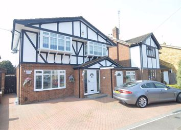 Thumbnail 4 bed detached house for sale in Harvest Road, Canvey Island, Essex