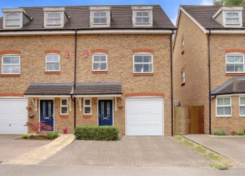 Thumbnail 3 bed town house to rent in Hadleigh Close, Shenley, Radlett