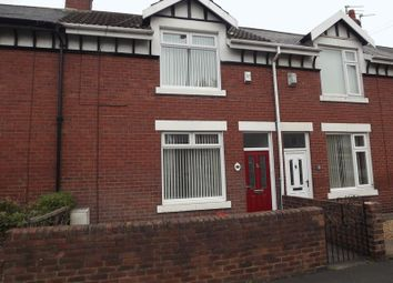 Thumbnail 2 bed terraced house to rent in Gordon Terrace, Stakeford, Choppington