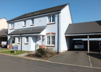Thumbnail 3 bed semi-detached house for sale in Belfrey Close, Hubberston, Milford Haven