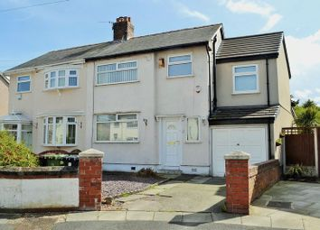 Thumbnail 4 bed semi-detached house for sale in Glenholm Road, Maghull, Liverpool