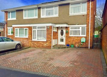 Thumbnail 4 bed semi-detached house for sale in Marne Road, Southampton