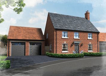 Thumbnail 4 bed detached house for sale in Plot 30, Hill Place, Brington, Huntingdon
