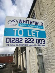 Thumbnail 3 bed terraced house to rent in Holmby Street, Burnley