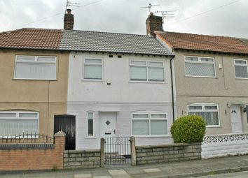 Thumbnail 3 bed terraced house to rent in Annie Road, Bootle, Merseyside