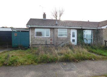 Thumbnail 2 bed semi-detached bungalow for sale in Cedar Close, Bacton, Stowmarket