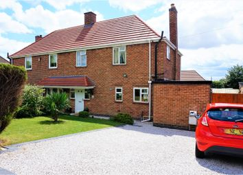 Thumbnail 3 bed semi-detached house for sale in Dysons Close, Swadlincote