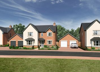 Thumbnail 4 bed detached house for sale in Off Sparrowhawk Way, Telford