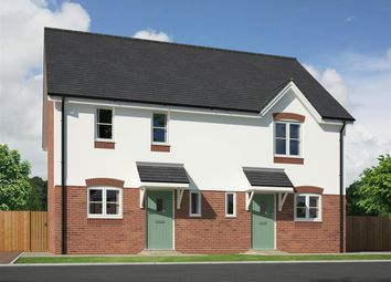 Thumbnail 2 bedroom semi-detached house for sale in Plot 17, Morris Close, Condover
