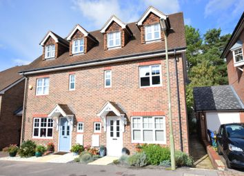 Thumbnail 4 bed semi-detached house for sale in Stockbridge Road, Fleet