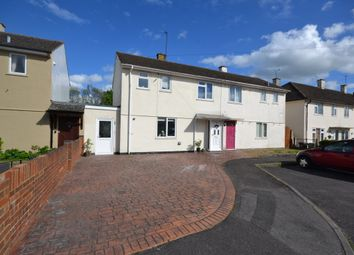 Thumbnail 3 bed semi-detached house for sale in Abbott Close, Didcot