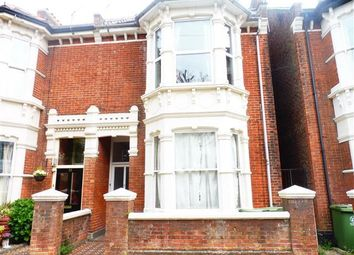 Thumbnail 3 bed flat to rent in Wilberforce Road, Southsea