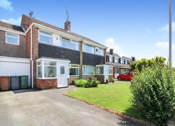 Thumbnail 4 bed semi-detached house for sale in Overton Way, Prenton