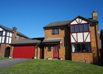 Thumbnail 4 bedroom detached house for sale in Templecombe Drive, Bolton