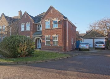Thumbnail 4 bed detached house for sale in Winchester Close, Bracebridge Heath, Lincoln
