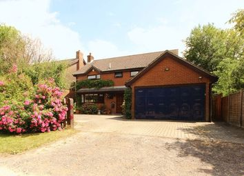 Thumbnail 4 bed detached house for sale in New Road, Swanwick, Southampton