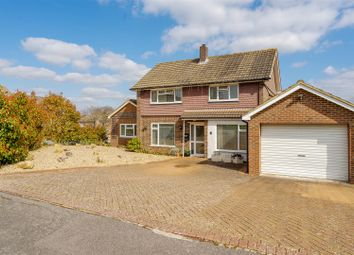Thumbnail 3 bed detached house for sale in Daneshill Close, Redhill
