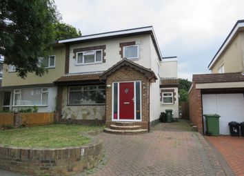 Thumbnail 3 bedroom semi-detached house for sale in Greenwood Avenue, Cosham, Portsmouth