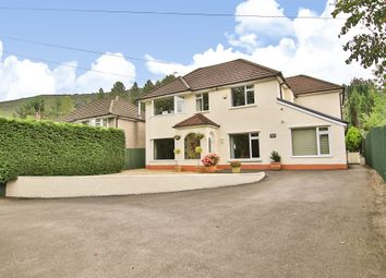 Thumbnail 4 bedroom detached house for sale in Ely Valley Road, Talbot Green, Pontyclun